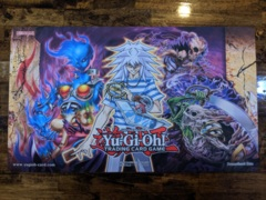 Yugioh Win a Mat 2019 Official - Bakura, Cursed Necrofear, Dark Spirit of Malice Playmat
