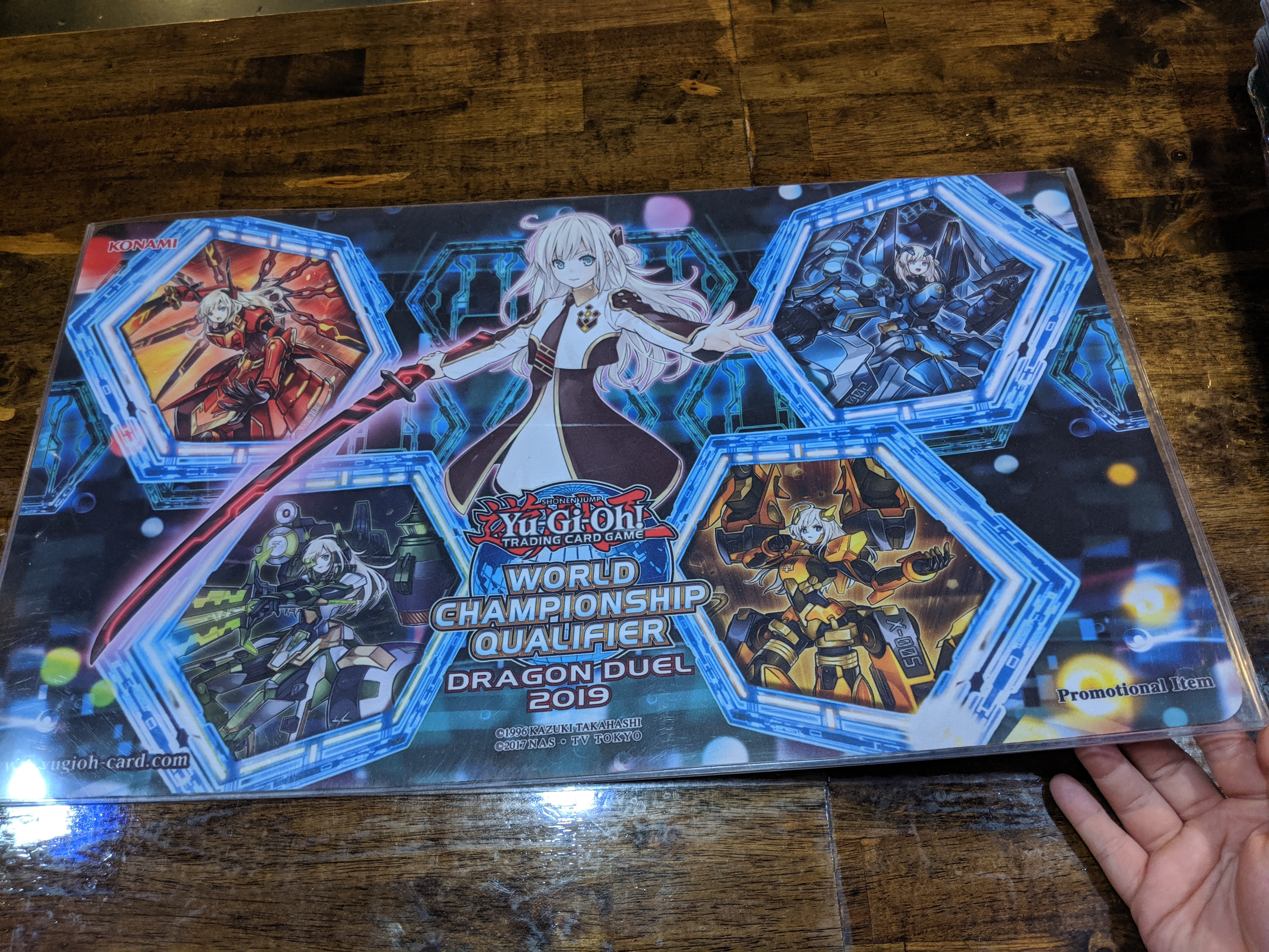 Yugioh 2019 Dragon Duel WCQ TOP CUT Playmat Sky Strikers
