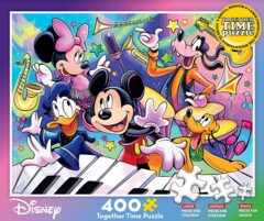 Ceaco Together Time - Disney/Pixar - Fab Five Music Concert Jigsaw Puzzle, 400 Pieces
