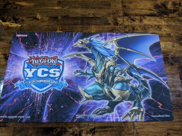 Yugioh YCS Top Cut 2018-2019 Chaos Emperor, The Dragon of Armageddon Playmat