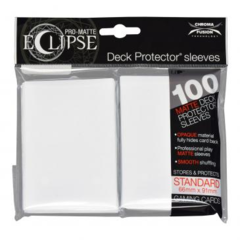 Ultra Pro - Pro Matte Eclipse: Deck Protector 100 Count Pack - Arctic White