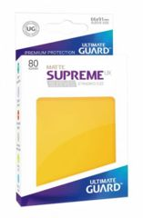 Ultimate Guard - SUPREME UX SLEEVES MATTE - Standard size - yellow