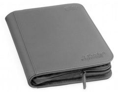 Ultimate Guard Zipfolio XenoSkin - 4 Pocket -  Grey