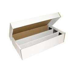 Cardboard Box 3000 Count with Lid