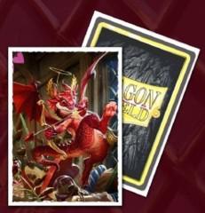 Dragon Shield Sleeves: Art Matte Valentine Dragon (Box Of 100)