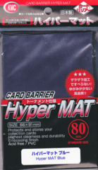 KMC Hyper MAT Blue Sleeves (80 ct)