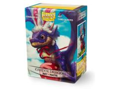 Dragon Shield Sleeves: Art Matte Easter Dragon (Box Of 100)