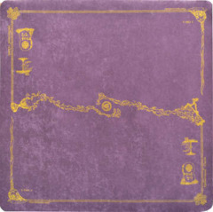 SpellGround Classic Play Mat Purple/Gold