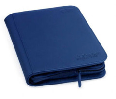Ultimate Guard Zipfolio XenoSkin - 4 Pocket - Dark Blue