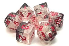 Old School RPG Dice Set: Particles Checkmate