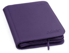 Ultimate Guard Zipfolio XenoSkin - 4 Pocket - Purple