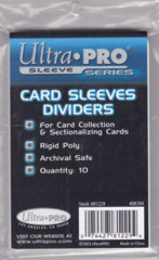 Ultra Pro Card Sleeves Dividers Pack of 10