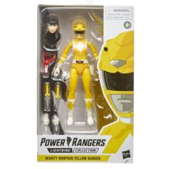 Power Rangers Lightning Collection 6-Inch Mighty Morphin Yellow Ranger Collectible Action Figure