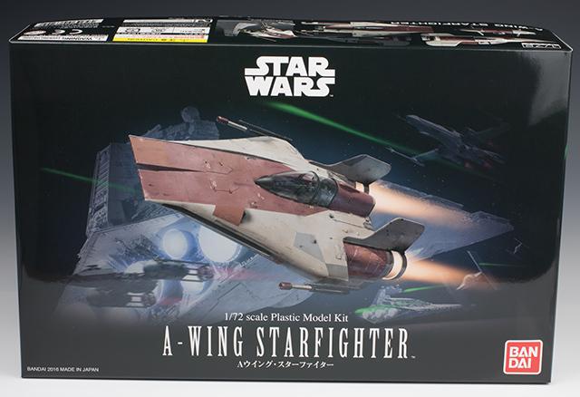 Star Wars A-Wing Starfighter Model kit