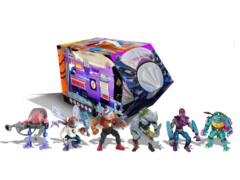 TMNT Retro Villians Mutant Module 6pc Set