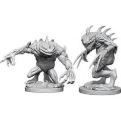 Nolzur's Marvelous Unpainted Miniatures - Grey Slaad N Death Slaad