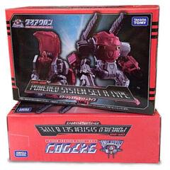 Transformers Diaclone 1/60 Scale DA-02 Powered System Set A