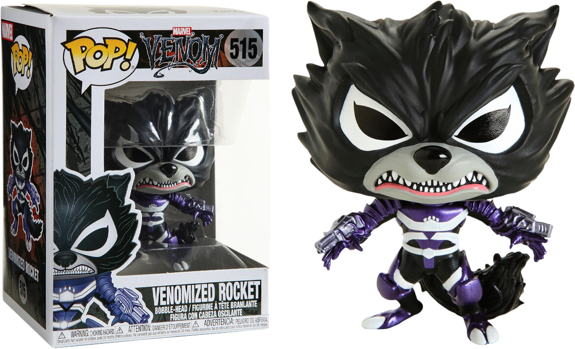 Funko Pop - Venomized Rocket Raccoon