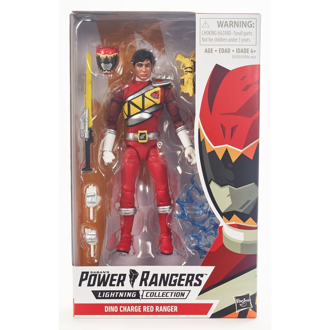 Lightning Collection - Power Rangers Dino Charge Red Ranger
