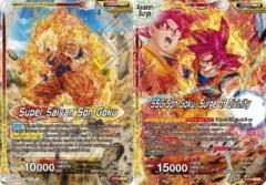 Super Saiyan Son Goku // SSG Son Goku, Surge of Divinity - EX09-03 - EX FOIL