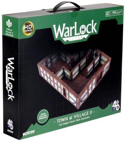 Dungeons & Dragons: WarLock Tiles II Town/Village Plaster Expansion