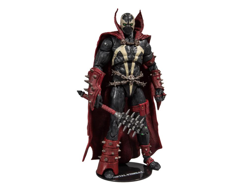 McFarlane Mortal Kombat Spawn Figure w/ Mace