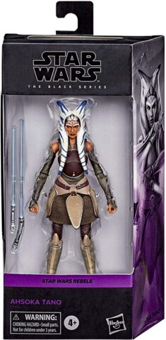 Black Series Star Wars Rebels Ahsoka Tano 6 inch Action Figure