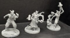 Tiefling Firebreathers 3 Pack (Le Circus Grotesque)