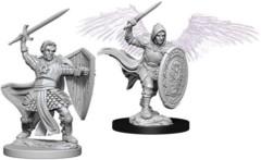 Nolzur's Marvelous Unpainted Miniatures - Aasimar Male Paladin