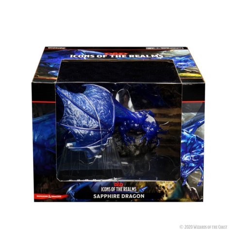 Icons of the Realms - Sapphire Dragon