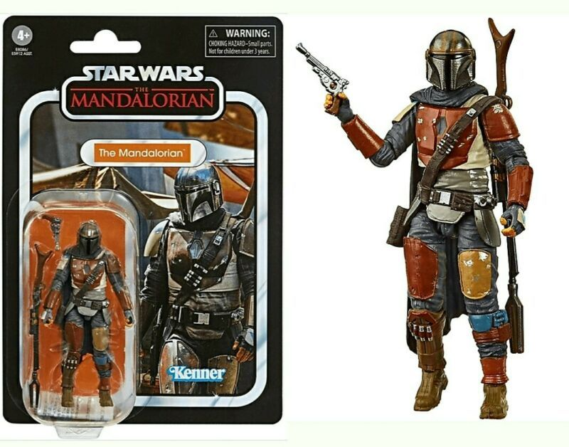 Star Wars Black Series Vintage Collection 3.75 - The Mandalorian