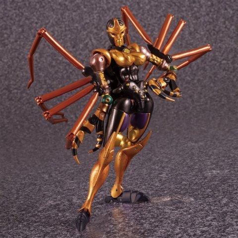 Masterpiece Beast Wars Black Arachnia MP