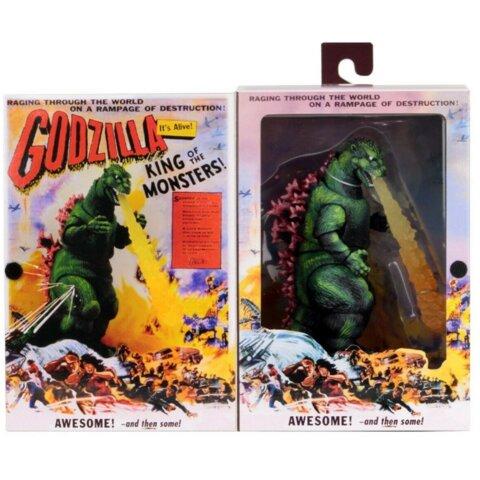 Godzilla King of the Monsters 6 Inch Action FIgure - Godzilla 1956 Movie Poster