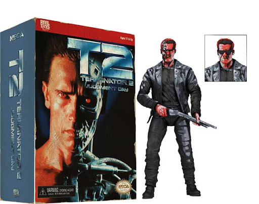 Terminator 2: Judgment Day - T-800 (NES) Video Game Appearence 7 Inch Action Figure - NECA Toys - Reel Toys