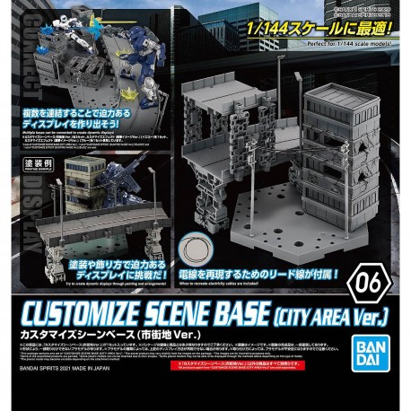 Customize Scene Base 1/144 ( City Area Ver.)