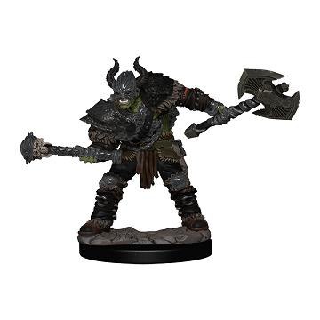 Pathfinder Battles Painted Mini - Half-Orc Male Barbarian