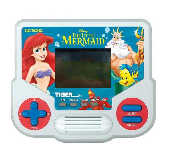 Tiger Electronics Handheld Video Game - The Little Mermaid
