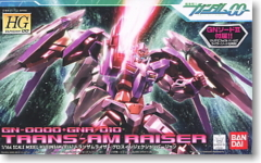 HG 1/144 Trans-AM Raiser Gloss Injection version
