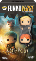 POP! Funkoverse - Harry Potter Expansion - Draco Malfoy and Ron Weasly