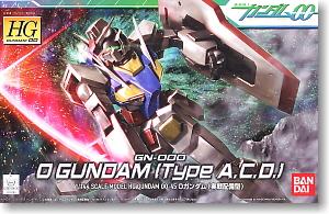 HG 1/144 #45 0 Gundam Operation Mode (Type A.C.O)