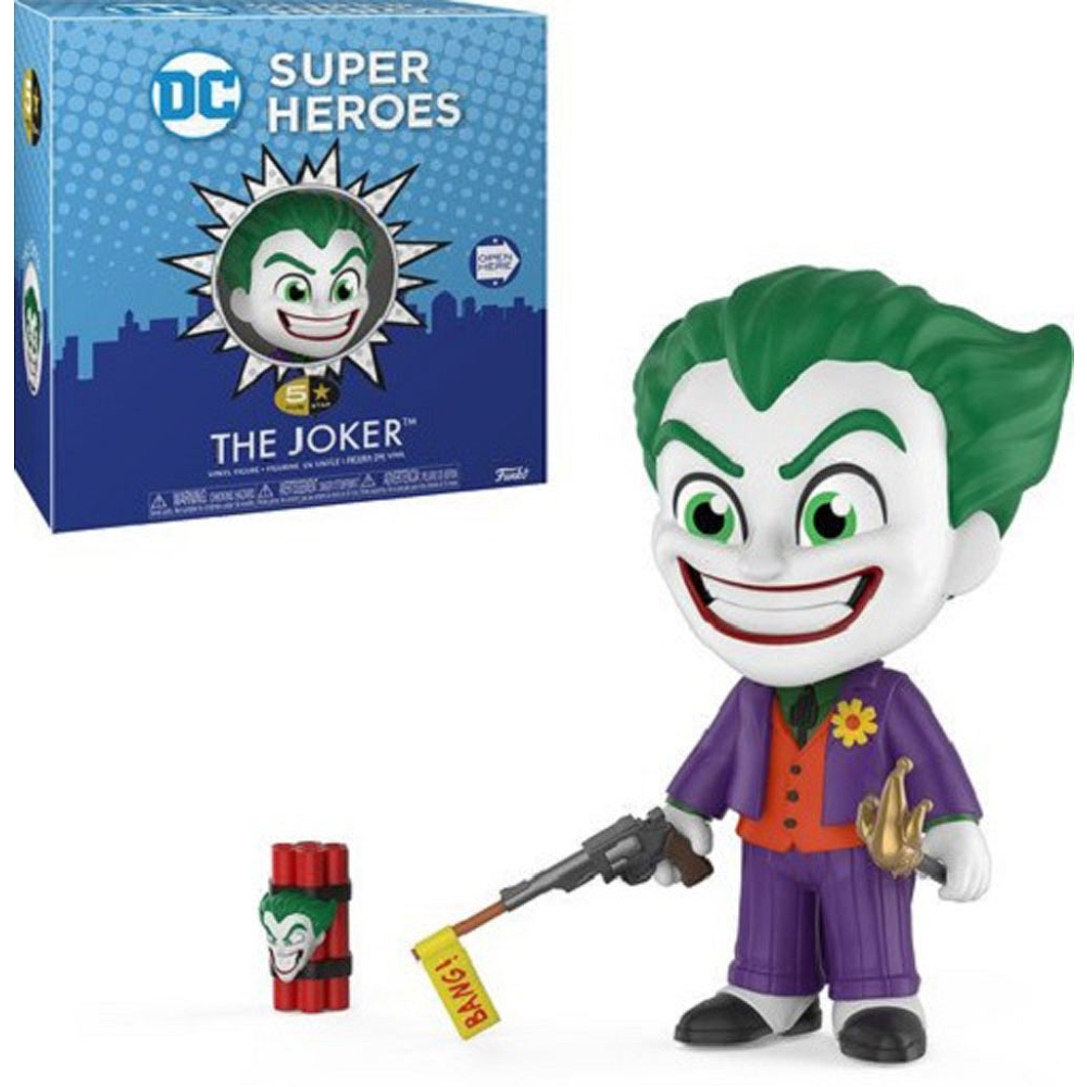 Funko DC Super Heros - The Joker - Five Star