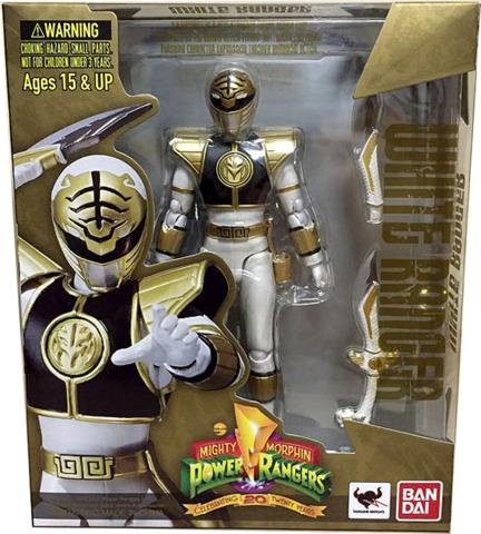 S.H. Figuarts - Power Rangers White Ranger