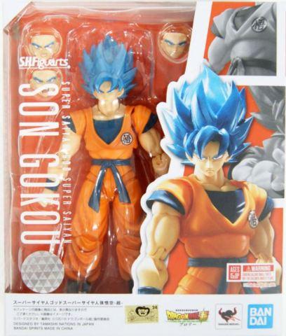 S.H. Figuarts - Dragon Ball Son Goku Super Saiyan God Super Saiyan (SSB)