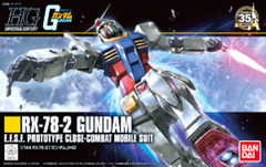 HG 1/144 - RX-78-2 Gundam E.F.S.F. Prototype Close-Combat Mobile Suit