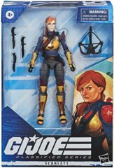 G.I. Joe Classified Series Action Figure - Scarlett