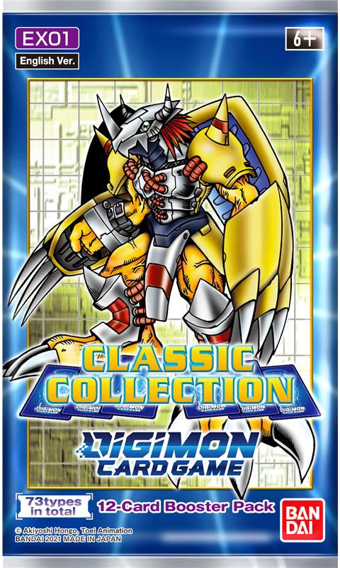DIGIMON Card Game CLASSIC COLLECTION Booster Box