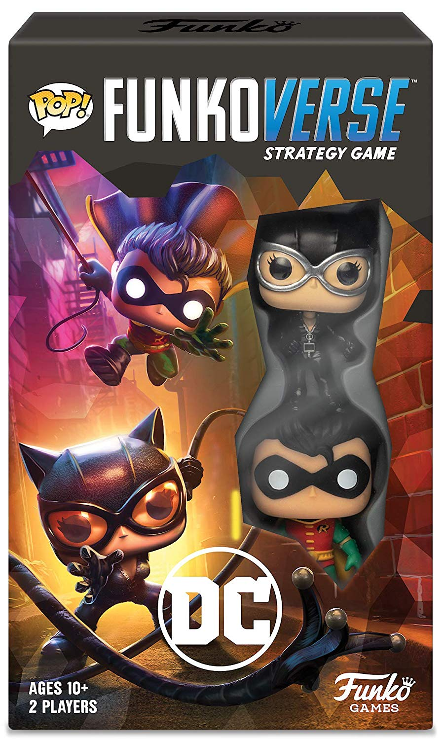 POP! Funkoverse - DC Comics Expansion - Catwoman and Robin