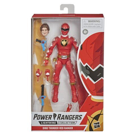 Lightning Collection - Power Rangers Dino Thunder Red Ranger