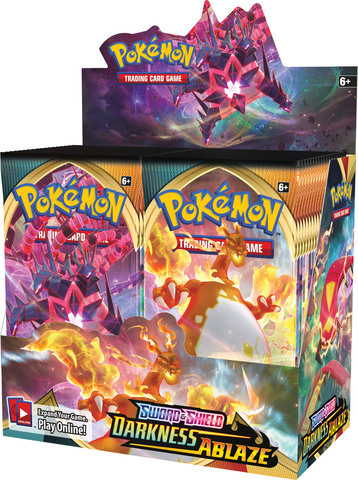 Sword & Shield - Darkness Ablaze Booster Case (6 Boxes)