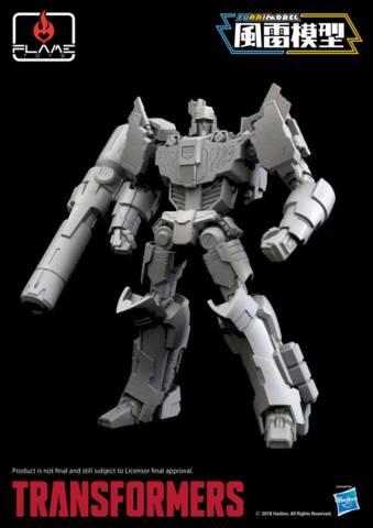 Flame Toys - Megatron IDW Model Kit
